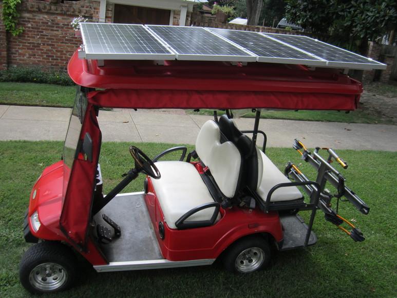 AIR ONE SOLAR SOLAR POWERED GOLF CART KITS COLUMBUS, GA. Survival Golf Cart on survival trailer, survival dune buggy, survival chain saw,